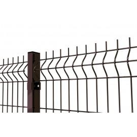 Panel brązowy fi4 150cm. Ogrodzenie brązowe.